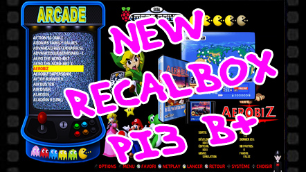 RETROGAMINIG MEILLEURES IMAGES RECALBOX - THE MINI CAKE TV